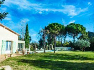 location maison vacances piscine privee sud france AN41 2 300x225 - New : maison piscine au bord du canal du Midi